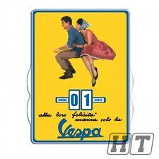 Calendario Infinito VESPA CLASSIC 270x370mm in giallo bianco rosso blu