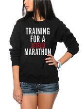 La formazione per una maratona Netflix show televisivo Chill Bambini & adolescenti Felpa molti formati