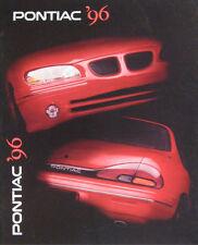 1996 Pontiac Brochure, Firebird Trans Am Sunfire Bonneville Grand Prix