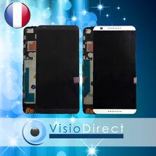 """Ecran complet pour HTC Desire 820 5.5"""" vitre tactile+ LCD sur châssis blanc noir"""