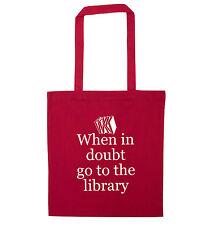 In caso di dubbio Vai alla libreria Tote Bag FAN fandom Geek HEAD preventivo REGALO 2961