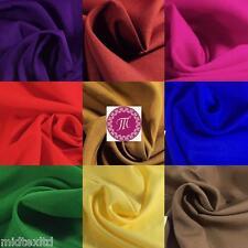 """Soft Lightweight Lining Fabric 39"""" Wide 100% Polyester 60 Matt Colours M505 Mtex"""