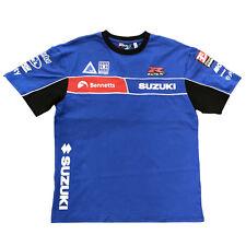 SUZUKI BSB Superbiker Team T-Shirt blau rot Original NEU ! von BikerWorld