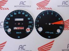 Honda CB 750 Four K0 Gauge Face Plates Kit Tacho Speedo DZM KM/H RPM