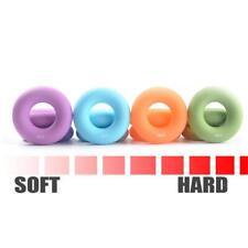 Silicone Wrist Hand Strengthener Gripper Ring Forearm Finger Exerciser Ball