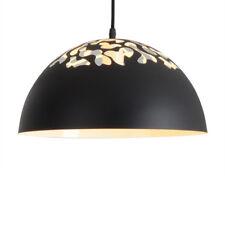 ASG Black Metal Hemisphere Modern Simple Ceiling Light Restaurant Cafe Bar Lamp
