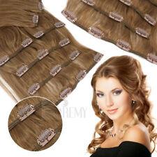 Clip In Set 7 Haarteile 70g 35 45 60cm Haarverlängerung Clip In Extensions #6/30