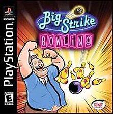 Big Strike Bowling (Sony PlayStation 1, 2003)  Free Shipping!
