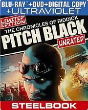 Pitch Black [Steelbook] [Blu-ray + Dvd + Digital Copy + UltraViolet]