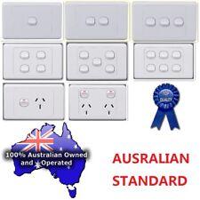 240V Power Point, Light Switch; Australian Standard; Bulk Buy