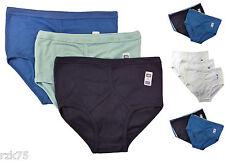 6 Pairs Men's Y-Fronts Underpants, 100% Pure Cotton Underwear, M L XL XXL