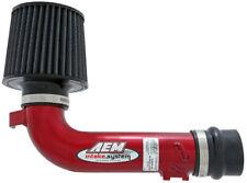 AEM Short Ram Air Intake System Red Impreza WRX 02-07