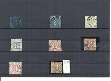 Thurn und Taxis 1852, Einzelwerte aus Michelnummern.: ex 1 - 41 o, gestempelt o