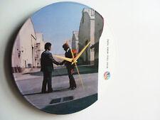 "Pink Floyd - Wish You Were Here (1975) - 12"" Vinyl Record Clock"