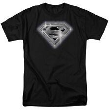 Superman Bling Shield T-Shirt DC Comics Sizes S-3X NEW