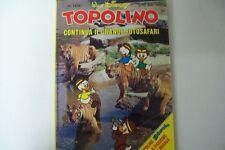 WALT DISNEY-TOPOLINO MICKEY MOUSE LIBRETTO-N. 1436- 5 GIUGNO 1983 ADESIVI