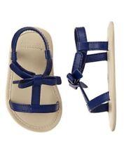 NWT Gymboree Tiny Paradise Blue Crib Sandals Shoes Baby Girl Infant 1,2,3,4