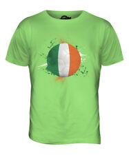 IRELAND FOOTBALL MENS T-SHIRT TEE TOP GIFTWORLD CUP SPORT