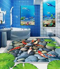 3D Stagni Di Pietra 81 Pavimento Foto Wallpaper Murales Muro Stampa Decalcomania