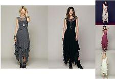 Women's Sheer Lace Slip Dress