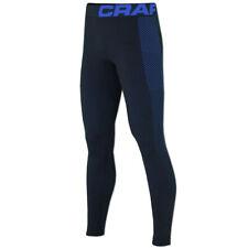 Craft Herren Warm Intensity Pants Funktionsunterhose Sportunterhose schwarz-blau