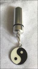 Anointing Oil Holder w Inner Vial, Yin-Yang Essential Oils Holder