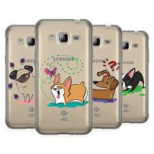 OFFICIAL GRACE ILLUSTRATION DOGS SOFT GEL CASE FOR SAMSUNG PHONES 3