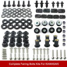 Fairing Bolt Kit Bodywork Screws For Kawasaki ZX-6R ZX-10R ZX-9R ZZR600 ZX-14R