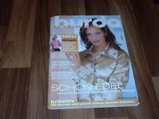 BURDA 10/04 -- EDEL: Luxuriöse Stoffe auch tagsüber/raffiniertes Wickelshirt