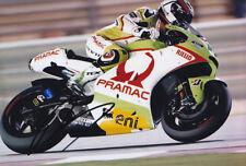 Randy De Puniet Ducati Signed Photo 5x7 2011 3.