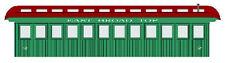 EAST BROAD TOP & MINER'S COACH Model Railroad On30 Laser Unptd Quik-Kit DFEBT02