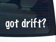 got drift? CAR RACING FUNNY DECAL STICKER ART WALL CAR CUTE