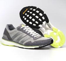 169fc5e0de520 Women Adidas Adizero Adios Grey Running Shoes Womens ADIDAS BB6410 NEW