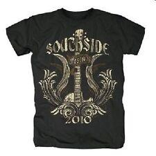 SOUTHSIDE FESTIVAL 2010 - GUITAR GOLD - T-SHIRT - schwarz - NEU & SOFORT