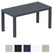 Table Lounge Ocean Table de Balcon Jardin et Véranda Table en Plastique Solide
