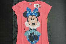 Disney Character Chemise Minie Couleur Taille Rose S ou M Neuf Avec Étiquette
