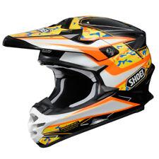 Shoei VFX-W Turmoil TC8 MX Motorbike Motorcycle Motocross Helmet Off Road Orange