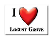 SOUVENIR USA - ARKANSAS MAGNET I LOVE LOCUST GROVE (INDEPENDENCE COUNTY)