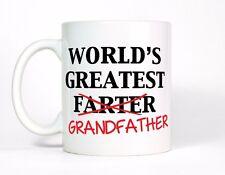 Worlds Greatest Farter Grandfather Funny Fart Coffee Mug Grandpa Birthday Gift