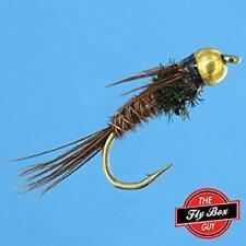 Pheasant Tail FlashBack Bead Head Premium Fishing Flies - Dozen -Select Sizes***
