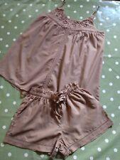 Next Ladies Mink Short Pyjamas UK 6 RRP £28  BNWT!!