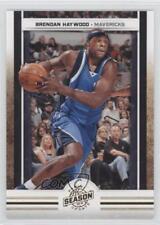 2009-10 Panini Season Update Gold #52 Brendan Haywood Dallas Mavericks Card
