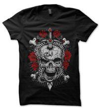 Tee Shirt Rebellion Skull