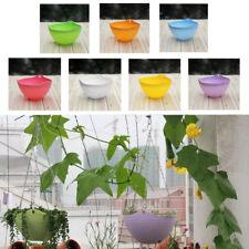 Balcony Home Garden Decor Resin Hanging Chain Planter Flower Pot Basket Planter