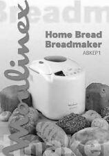 Moulinex Bread Machine Manual OW3000, OW3101, OW310E, OW5003