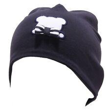 4755T cuffia bimbo NANAN blu cotone cappello hat baby cotton