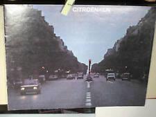 CATALOGUE CITROEN LN / 08 1977