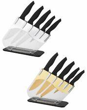 Set ensemble de couteaux 6 pièces bloc de couteaux