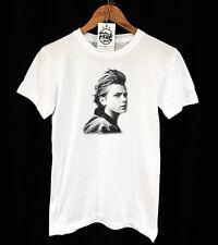 River Phoenix T-shirt - Retro-Vintage-Indie-Años 80-Unisex-Pico de la confección