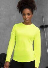 Damen Langarmshirt UV-Schutz Shirt Rundhals Quick Dry Gr.XS-XL 6 Farben JC012